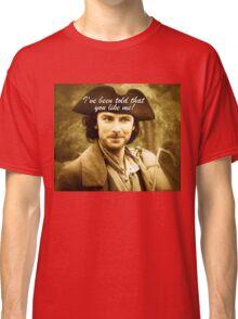 Sexy Poldark in Cornwall Classic T-Shirt
