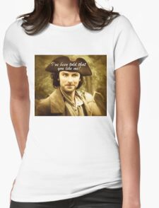Sexy Poldark in Cornwall Womens Fitted T-Shirt