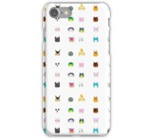 Animal Crossing New Leaf Tsum Pattern iPhone Case/Skin