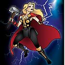 Super-heroines - Thor by Lauren Eldridge-Murray