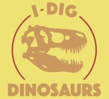 I Dig Dinosaurs Kids Clothes