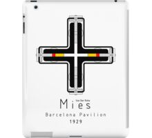 ICONIC ARCHITECTS-MIES VAN DER ROHE iPad Case/Skin