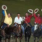 ACS Guys hat horses by Sharon Robertson