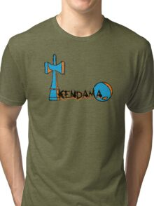 Graffiti Kendama  Tri-blend T-Shirt