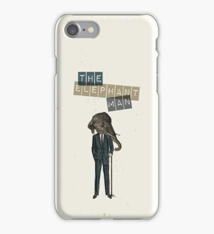Elephant man iPhone Case/Skin