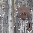 Church Door Detail by exvista