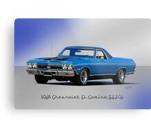 1968 Chevrolet El Camino SS396 Metal Print