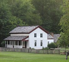 Gregg-Cable Mill House in Cades Cove by JeffeeArt4u