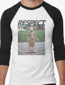 Respect the Skater Men's Baseball ¾ T-Shirt