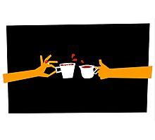 Tea Time Murder Photographic Print