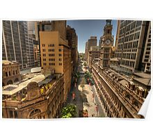 Martin Place,Sydney Australia - The HDR Experience Poster