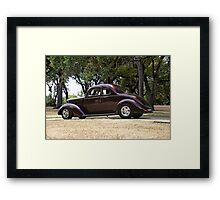 1936 Ford 5 Window Coupe Framed Print