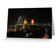 Harbour Bridge Natural Light Greeting Card
