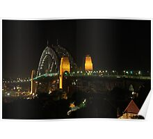 Harbour Bridge Natural Light Poster