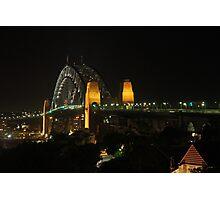 Harbour Bridge Natural Light Photographic Print