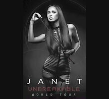 JANET UNBREAKABLE WORLD TOUR 2015 Unisex T-Shirt