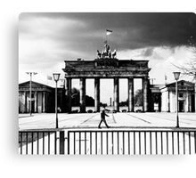 Brandenburg Gate, the Eastern View  Canvas Print