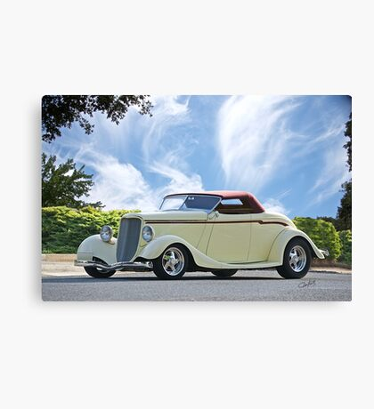 1934 Ford Cabriolet Canvas Print