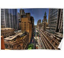 Martin Place - Sydney Australia - The HDR Experience Poster