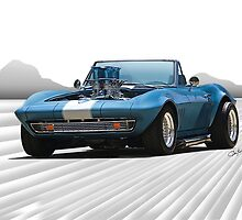1965 Corvette 'Fuel Injected' Convertible by DaveKoontz