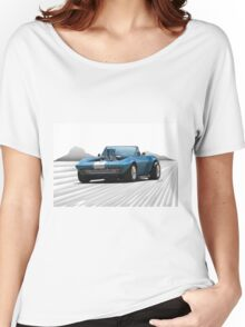1965 Corvette 'Fuel Injected' Convertible Women's Relaxed Fit T-Shirt