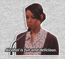April Ludgate - alcohol is fun by WillLivingston