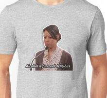 April Ludgate - alcohol is fun Unisex T-Shirt