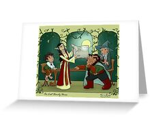 The Hobbit - Last Homely House Greeting Card