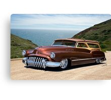1950 Buick Woody Custom Wagon Canvas Print