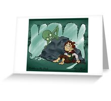 The Hobbit - Riddles in the Dark Greeting Card