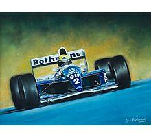Ayrton Senna. Formula 1. Photographic Print
