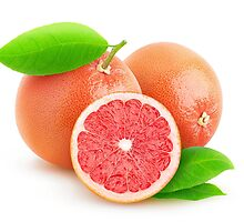 Pink grapefruits by 6hands