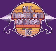 All American Badass 1976 by BeanePod