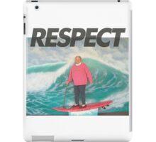 Respect the Soul Surfer iPad Case/Skin