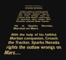Sparks Nevada, Marshal on Mars by Rene Flores