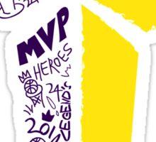 Kobe Bryant All Star Sticker
