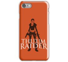 Thu'um Raider iPhone Case/Skin