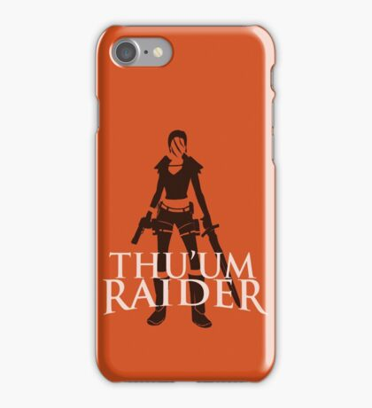 Thu'um Raider iPhone Case/Skin