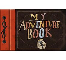 My Adventure Book from Up Photographic Print
