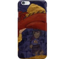 The Hobbit - Smaug and the Burglar iPhone Case/Skin