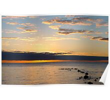Dunsborough sunrise Poster