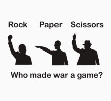 Rock Paper Scissors by Cathie Tranent