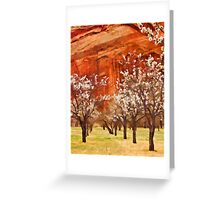 Orchard, Capitol Reef Greeting Card