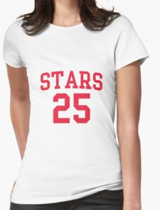 Jay Stars 25 Basketball Blind Dating Womens Fitted T-Shirt