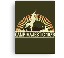 CAMP MAJESTIC  Canvas Print