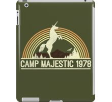 CAMP MAJESTIC  iPad Case/Skin