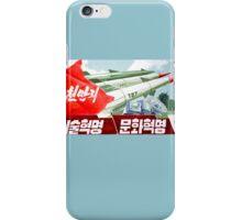 North Korean Propaganda - Missiles  iPhone Case/Skin