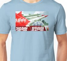 North Korean Propaganda - Missiles  Unisex T-Shirt