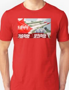 North Korean Propaganda - Missiles  T-Shirt
