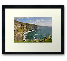 Cliffs of Moher, County Clare, Ireland Framed Print